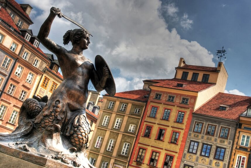 Warsaw's Mermaid
