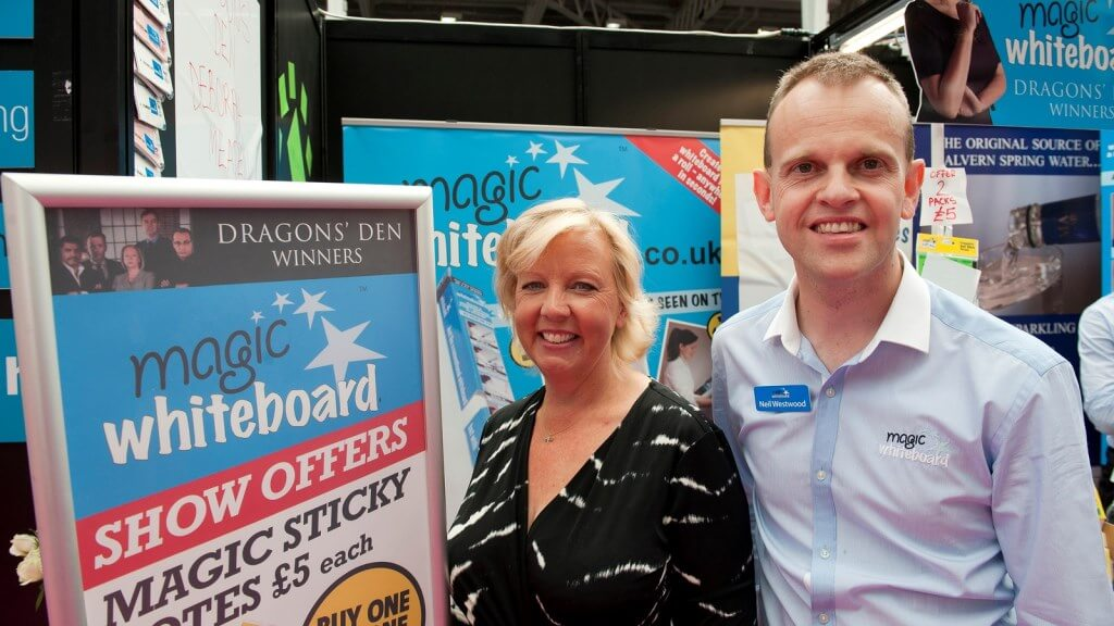 Inside Dragons' Den With Magic Whiteboard
