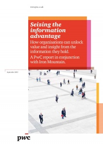 Seizing The Information Advantage PwC
