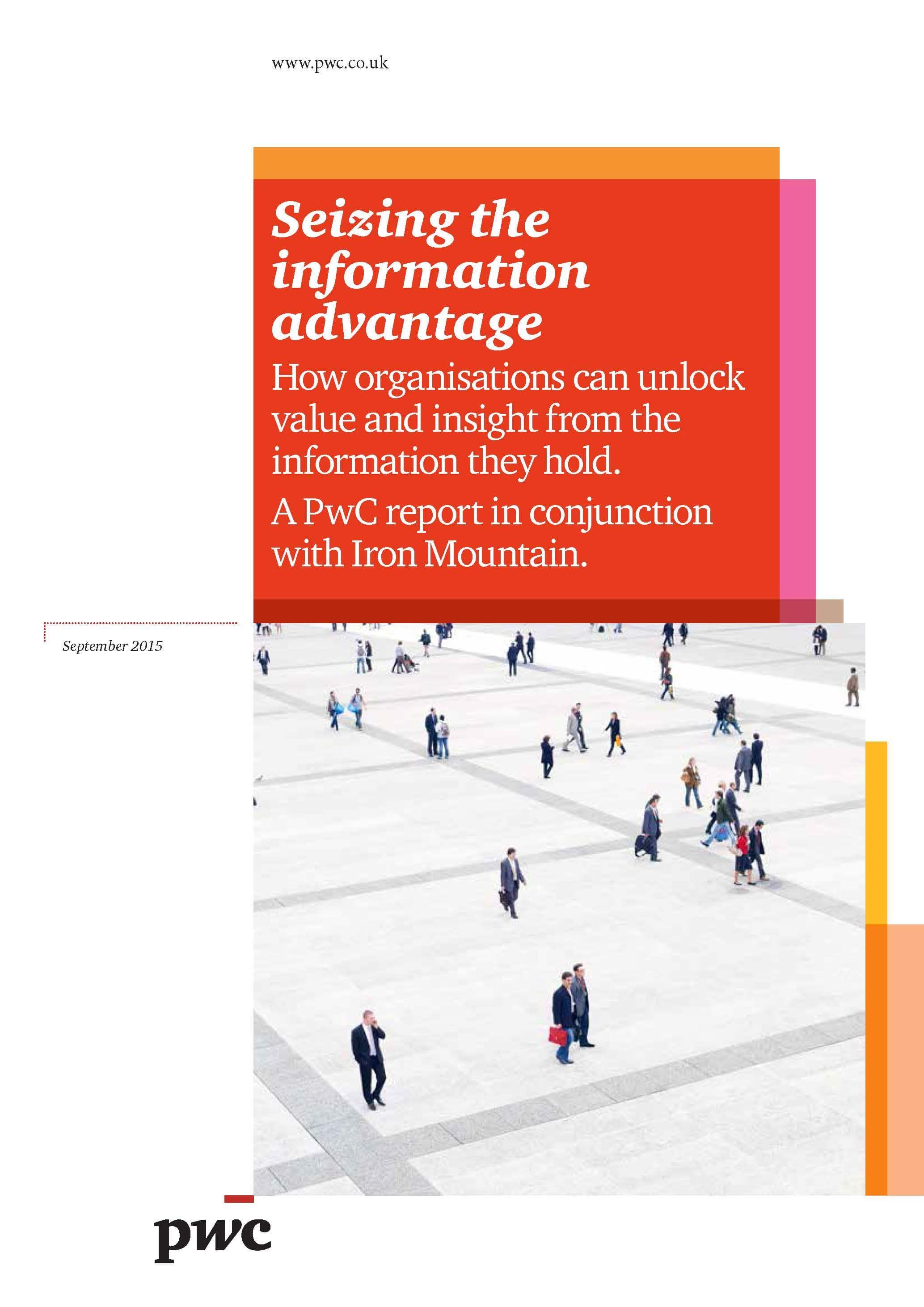 Seizing The Information Advantage PwC