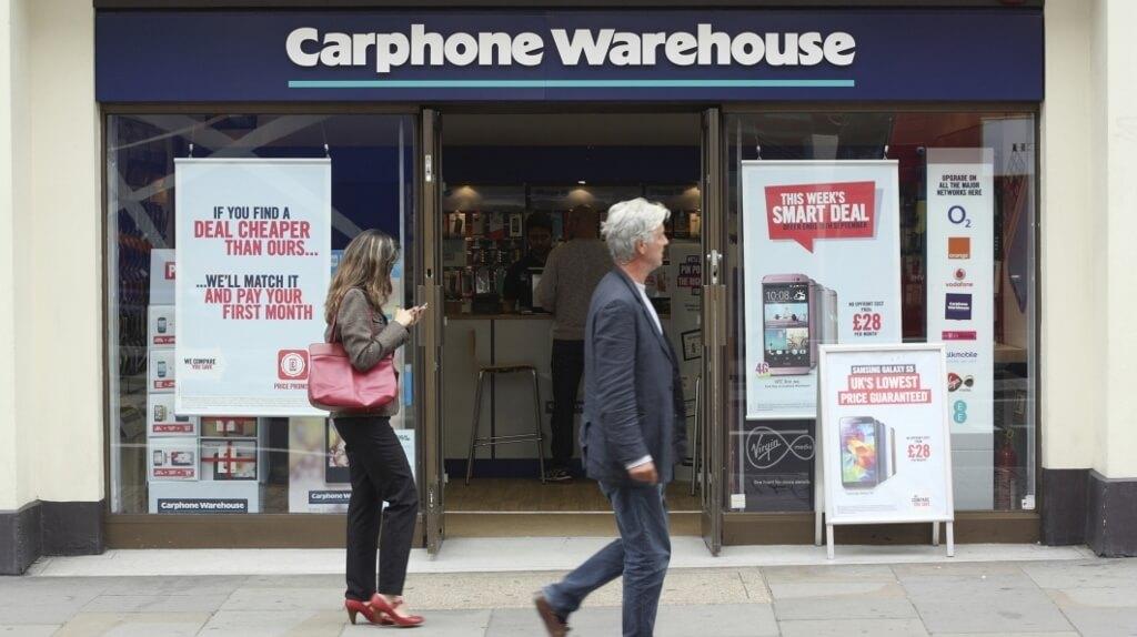 Carphone Warehouse London