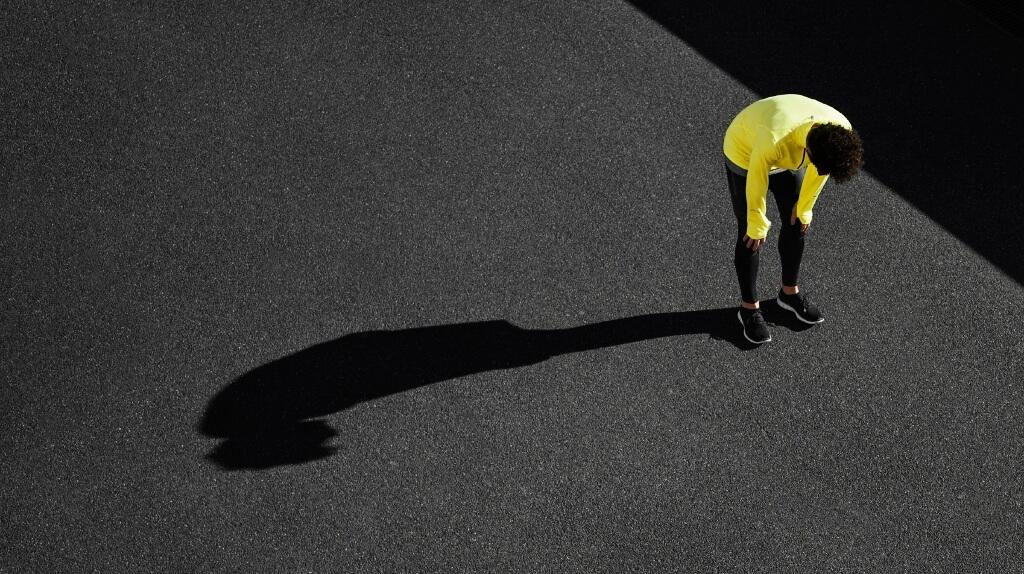runner on low energy