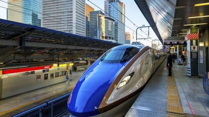 Shinkansen train
