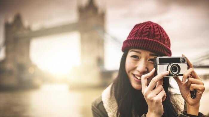 Chinese London tourist