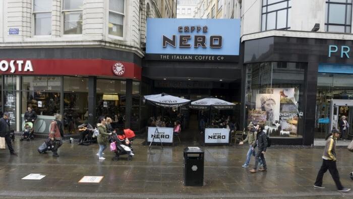 Caffe Nero, Costa