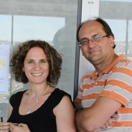 Dr Sharon Tal and Prof Marc Gruber