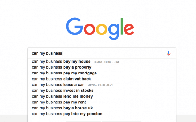 can my business google