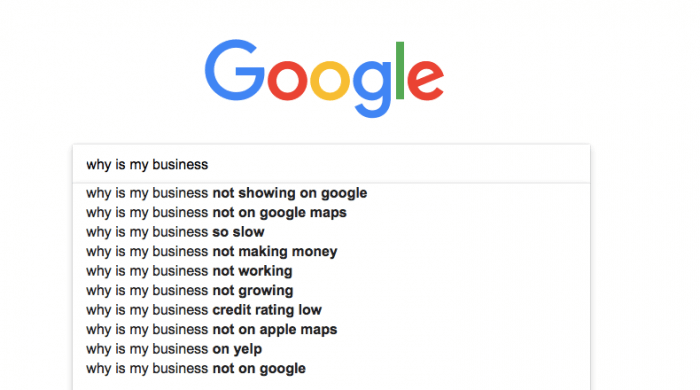 why is my business google