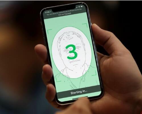 iProov phone