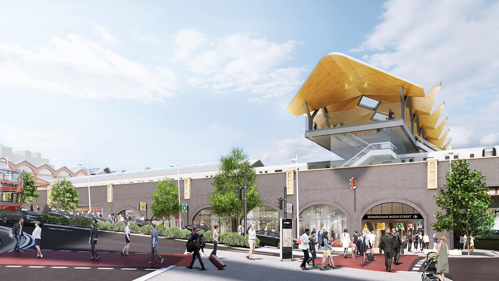 New Images Show Planned Transformation Of Birmingham Station