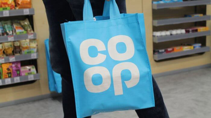 Co-op Launches Online Delivery Service Using Electric Bikes