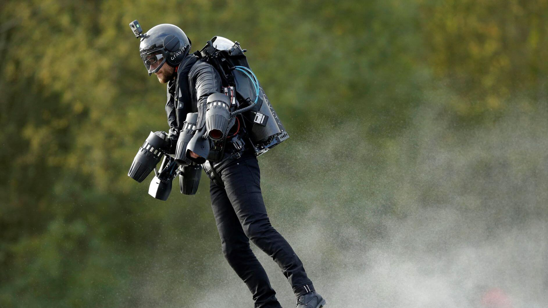 World First 'Jet Suit' Patented By British Firm