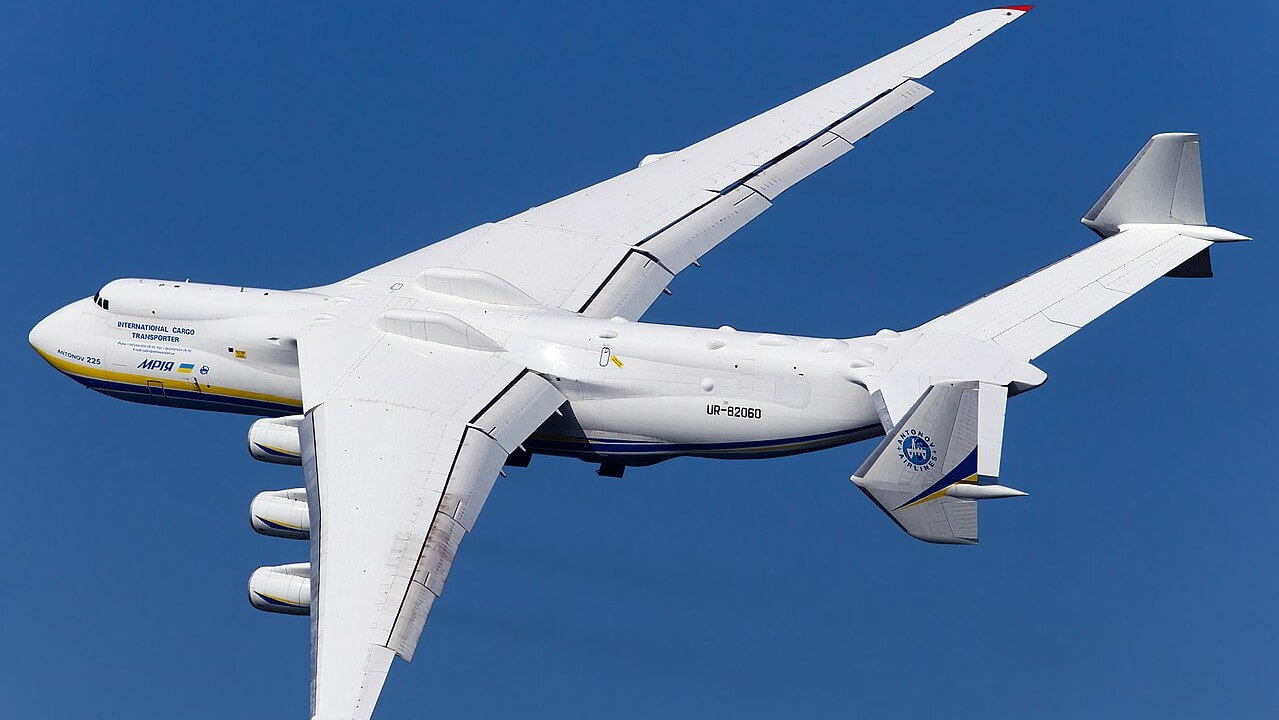 Antonov AN-225 - the World's Largest Cargo Aircraft