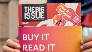 Big Issue Trials 'World's First Resellable' Magazine