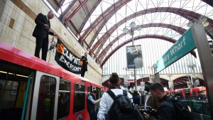 Wi-Fi At Tube Stations Disabled Amid Climate Protests