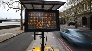 Ultra-Low Emission Zone Comes Into Force In Central London
