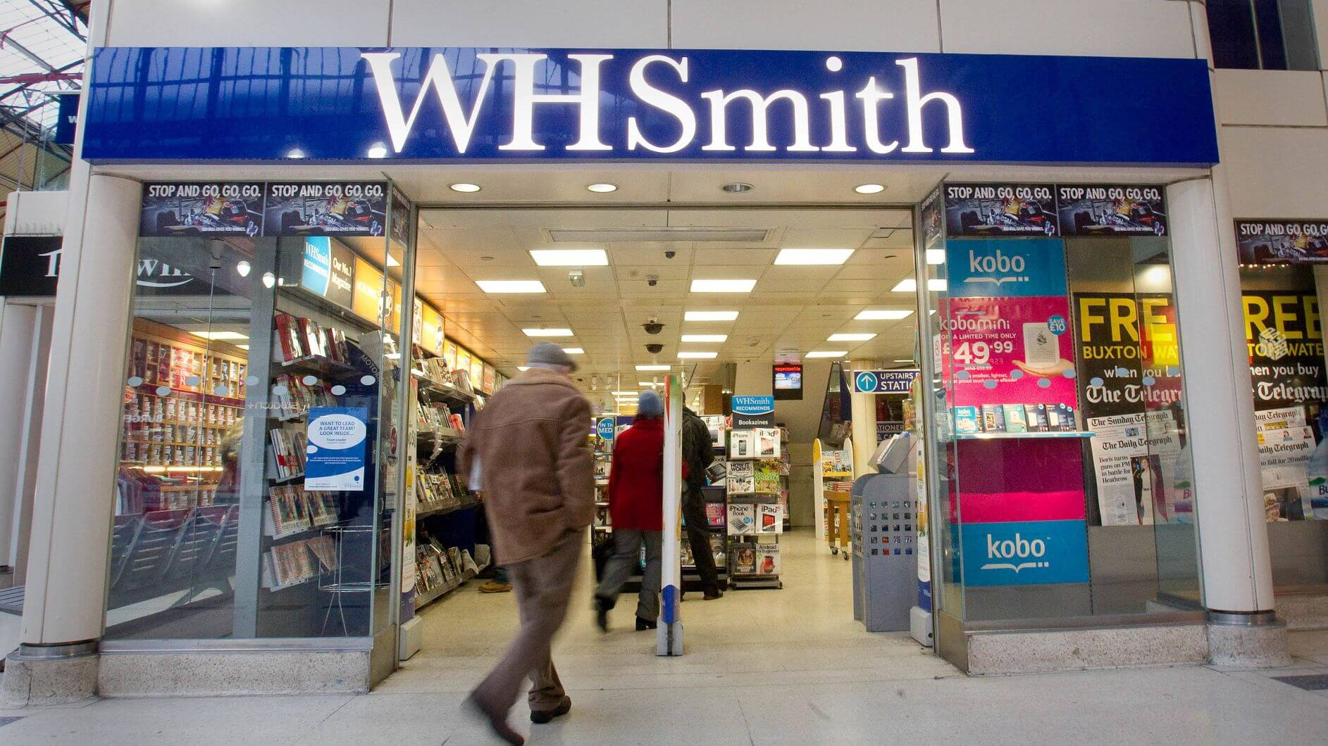 WH Smith Boss To Check Out After Six Years In Charge