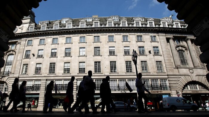 Crown Estate Brushes Off Retail Challenges As Returns Hit Record Levels