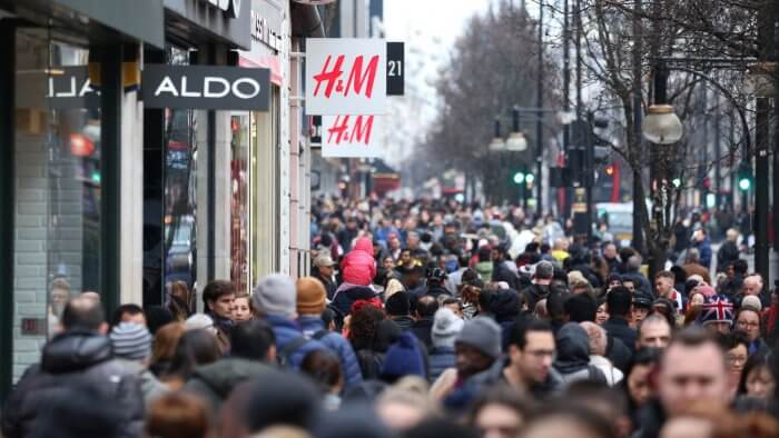UK Population Hits 66.4m As Growth 'Stalls'