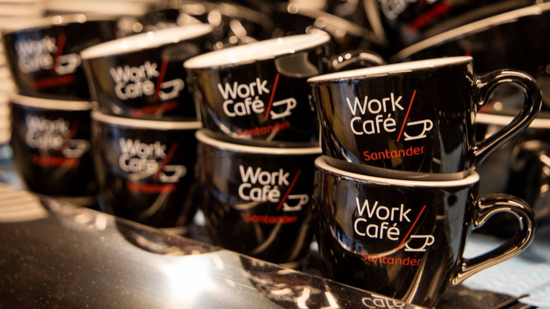 Santander Opens First UK 'Work Cafe' For Small Businesses