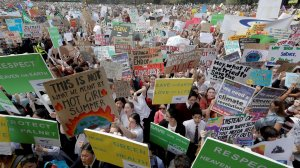 Millions take to streets for global climate strike