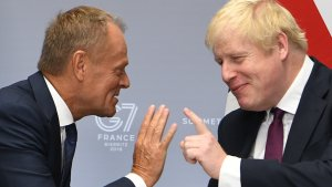Brexit Delay Still Possible, Tusk Tells MPs Preparing To Vote On Johnson's Deal