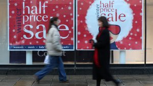 Inflation Sinks Lower On Early High Street Sales And Cheaper Hotel Rooms