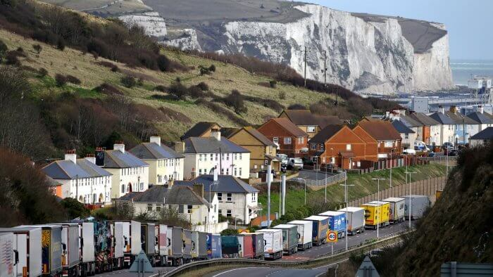 Giant Post-Brexit 'Lorry Park' Would Be 'Bad News' For UK Business, Labour Says