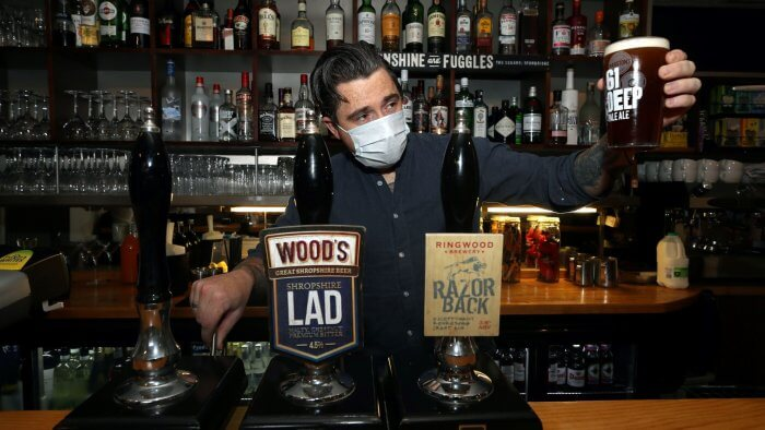 Thousands Of Pubs Set To Reopen Next Week