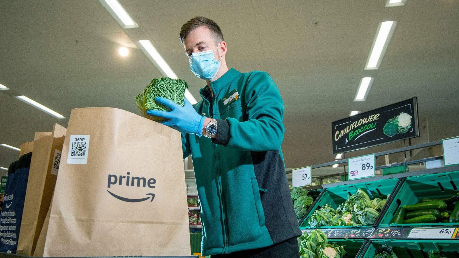 Morrisons Creates 1,000 New Jobs To Expand Amazon Prime Service
