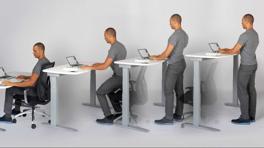 is a standing desk better for you Are Standing Desks Better For You?   Minutehack is a standing desk better for you