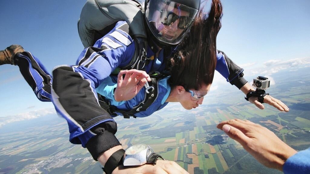 GoPro skydive