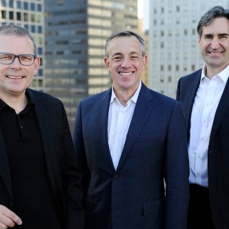 Malcolm Frank, Paul Roehrig and Ben Pring