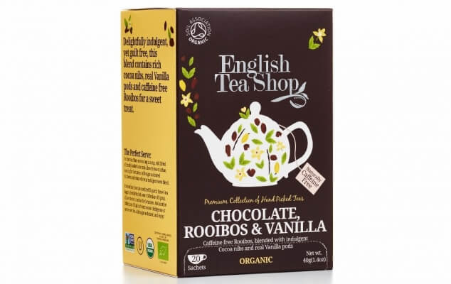 Chocolate Rooibos and Vanilla tea
